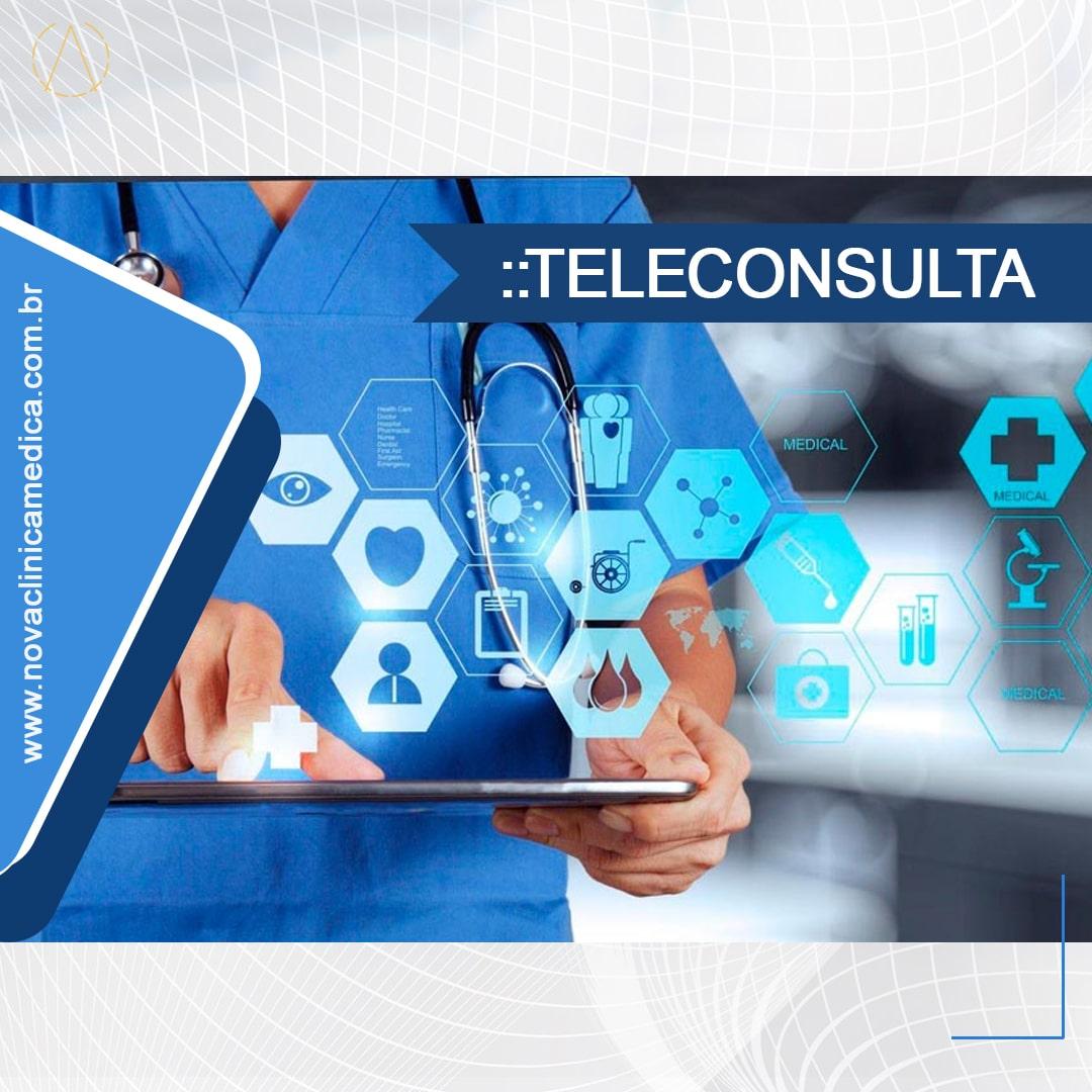 Atendimento Médico via Teleconsulta